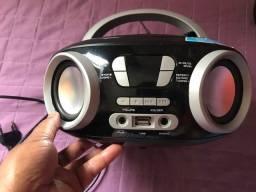 Título do anúncio: Cd Player Rádio Portátil Mondial NBX-13 6w Rms