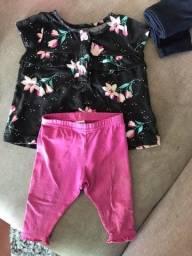 Título do anúncio: Conjunto blusa e calça Carter?s