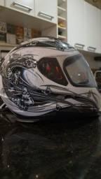 Kit moto - capacete, casaco e mais