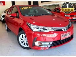 Toyota Corolla Gli 1.8 Flex Automático 2018!!! (Unico Dono)