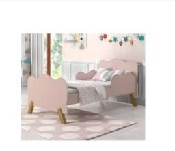 Título do anúncio: Mini cama infantil rosee