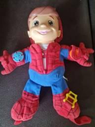 Boneco Educativo Homem Aranha