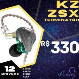 Título do anúncio: KZ ZSX TERMINATOR - NOVO, LACRADO, PRONTA ENTREGA - Fones retorno in-ear
