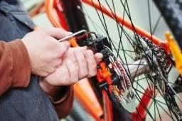 Título do anúncio: Serviços e troca de peças para sua bike