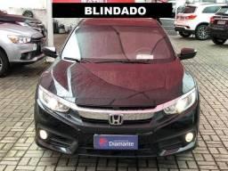 Civic G10 exl Blindado 17/17 único dono