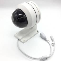 Câmera IP Ptz Mini Dome 5mp - 4x Zoom Poe