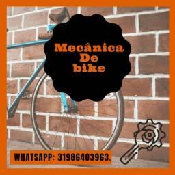 Título do anúncio: Bicicleta (serviço de manutenção)