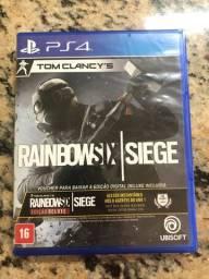 VENDA OU TROCA // Jogo PS4 Rainbow Six Siege DELUXE