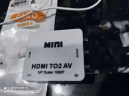 Conversor HDMI e VGA / HDMI e RCA