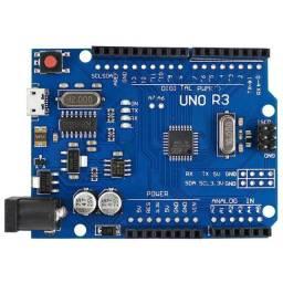 Arduino Uno R3 modelo Chinês sem Cabo USB - Realengo