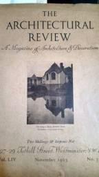 The Architectural Review 1923 Revista De Arquitetura