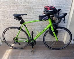 Bike Speed Specialized + Capacete + Cadeado + Bomba de ar