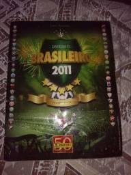 Álbuns de figurinhas (Futebol) Brasileirao 2011,2014 e Copa das confederações 2013