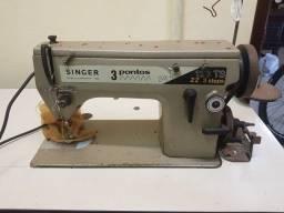 Máquina de costura - Singer Zig Zag 3 pontos - 123TS