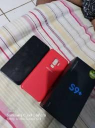 S9+ 128gb completo vendo ou troco