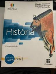 Livro de História Ensino Médio - Projeto Múltiplo