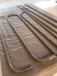 Mosquiteiro com Armação de metal Solteiro
