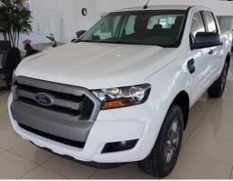 Ford Ranger XlS 2.2 4x4 Diesel Aut. 18/19 só 123.990 IPVA 2019 pago - 2019