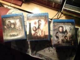 Blu-ray Disc trilogia O senhor dos anéis - 3 discos - novos