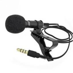 Microfone De Lapela Original Não Precisa de Adaptador Entrada P3 Para Celular