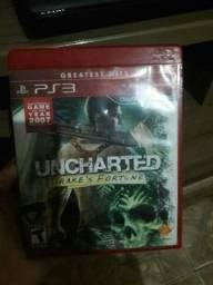 Vendo jogo uncharted ps3