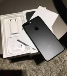 IPhone 7 Plus 32 GB preto fosco 1 mês de uso