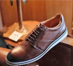Sapato De Luxo Derby (Foglio Uomo) Novo Na Caixa N-38 Top
