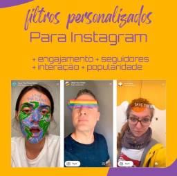 Filtro/efeito para instagram personalizado