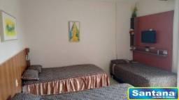 Loft à venda com 1 dormitórios em Turista i, Caldas novas cod:2157