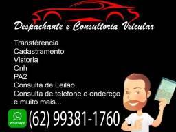 Despachante e consultoria veicular com rapidez e segurança !