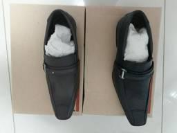 Sapato social na caixa novo últimas unidades