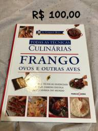Livro de técnicas culinárias