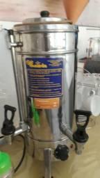 Cafeteira monarcha inox elétrica