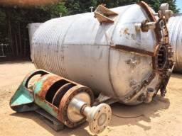 Reator em aço inox 15 mil litros
