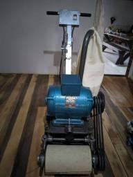 Maquina de lixar assoalho e taco