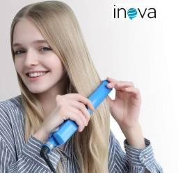 Chapinha | Prancha Azul De Cabelo Titânio Original da Inova