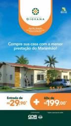 14- Condomínio Giovana. CASAS COM ENTRADA DE 500 REAIS!