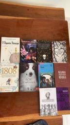 10 Livros Semi-Novos
