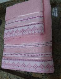 Jogo de toalhas de banho