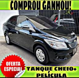 TANQUE CHEIO SO NA EMPORIUM CAR!!! PRISMA 1.0 LT ANO 2014 COM MIL DE ENTRADA