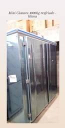 Mini Câmara Resfriados 1000kg - Klima