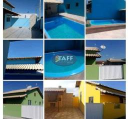 K24- Casas 2 quarto com área Gourmet dentro de condomínio em Unamar - Cabo Frio