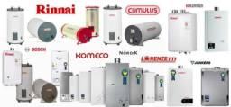 Manutenção de aquecedores a gás
