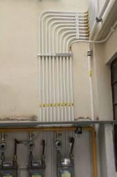 Conserto em tubulação de cobre pra gás