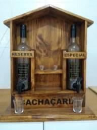 Porta bebida pingometro artesanal