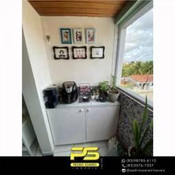 Apartamento com 2 dormitórios à venda, 52 m² por R$ 140.000,00 - Mangabeira - João Pessoa/