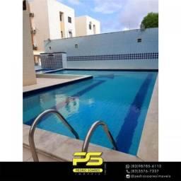 Apartamento com 2 dormitórios à venda, 60 m² por R$ 145.000 - Jardim Cidade Universitária