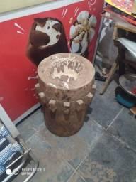 Título do anúncio: Pilão de madeira maciça com 2 secadores