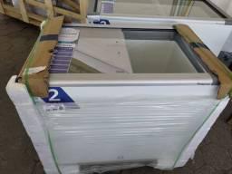 Freezer horizontal porta de vidro pronta entrega *douglas