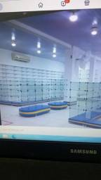 Balcão de vidro p/farmácia